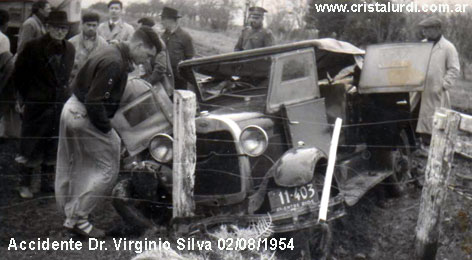 Accidente Dr Silva